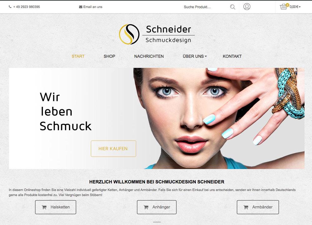 agentur m hoch 3 onlineshop schmuckdesign schneider. Black Bedroom Furniture Sets. Home Design Ideas