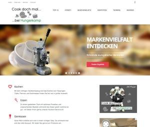 Webseite Hungerkamp