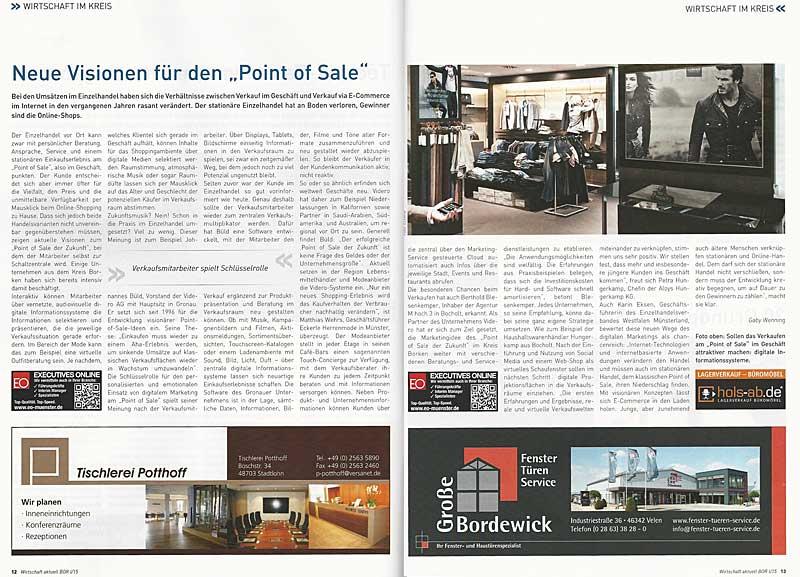 Bericht Point of sale