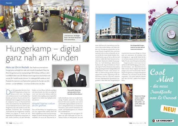 Hungerkamp: Multichannel lokal