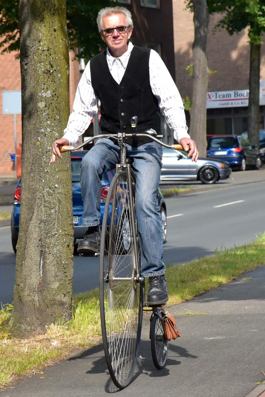 Eddi Lachmann Historische Fahrräder Bocholt