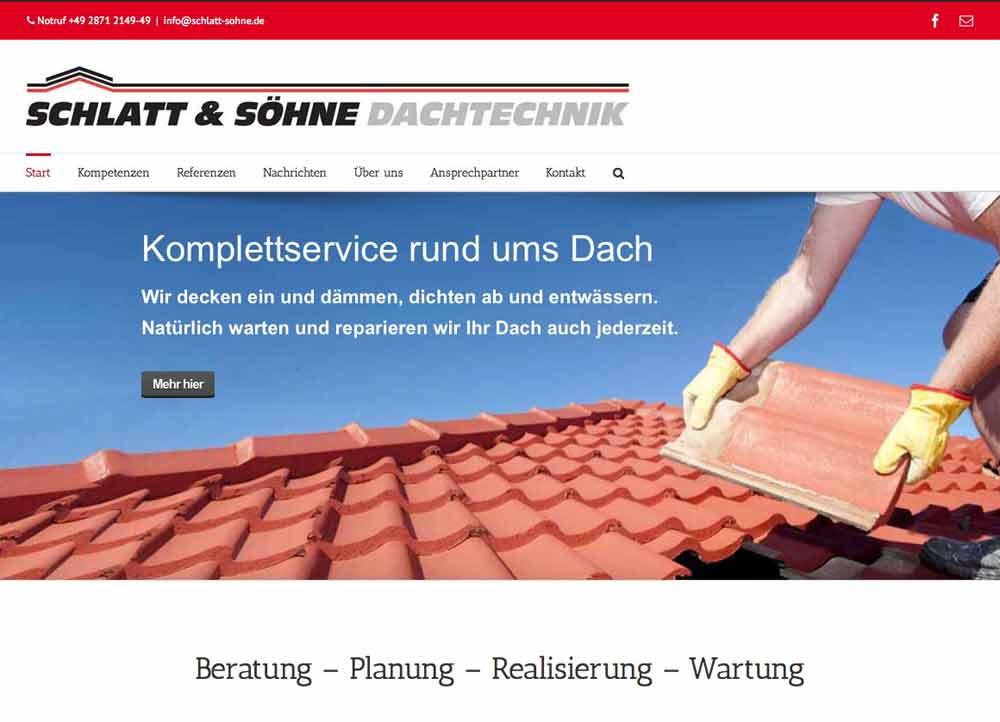 Schlatt & Söhne Homepage