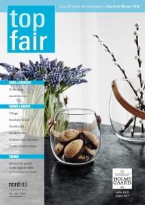 Titelseite top fair Messemagazin der Messe Frankfurt mit Berthold Blesenkemper